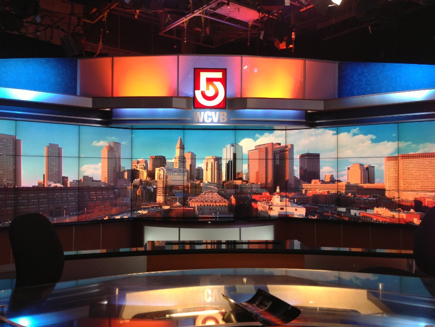 WCVB Boston Videowall