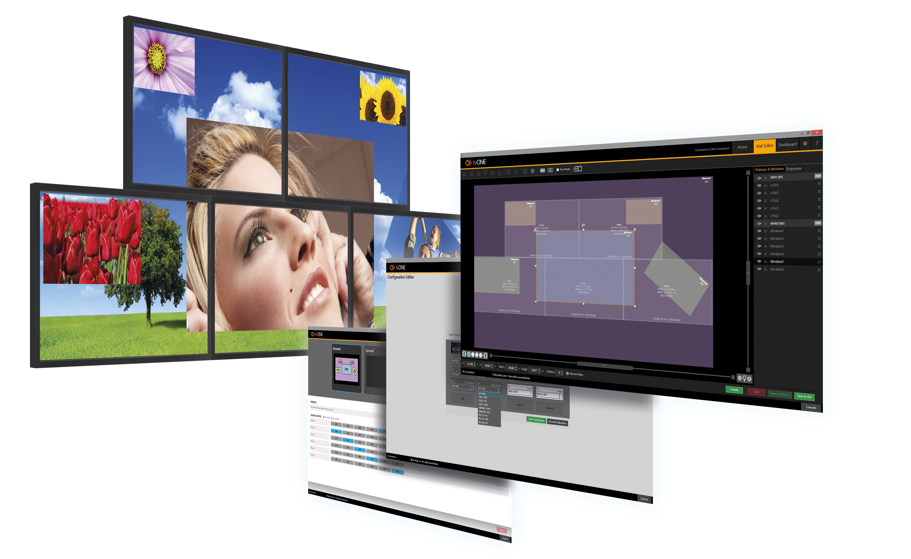 Creative Video Wall Design Software For CORIOmaster U0026 CORIOmaster Mini Video  Wall Processors