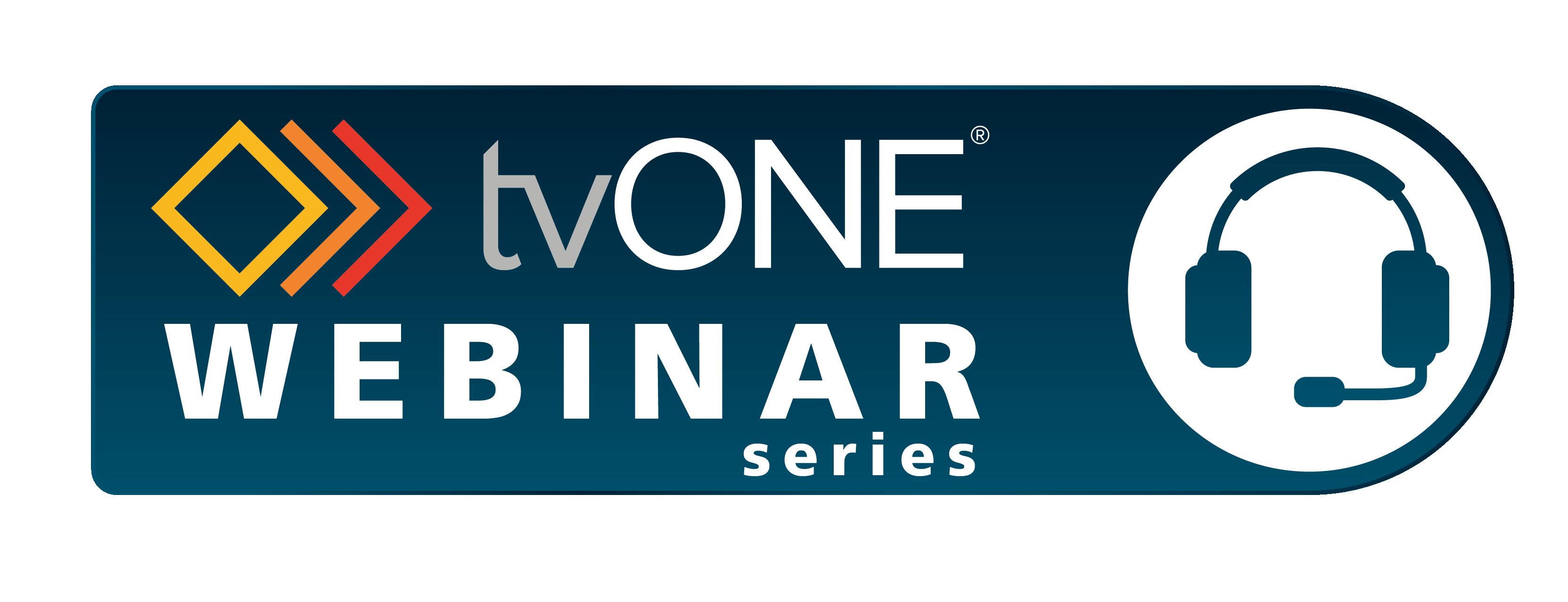tvONE Webinar Series Logo 01 01